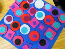 Felt Applique - quick and easy to get good results in a single Art & Craft Activity Session.